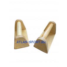 Стоялки гимнастические низкие деревянные