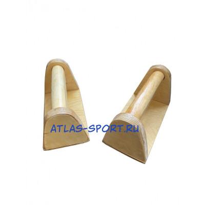 Стоялки гимнастические низкие деревянные фотография товара