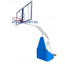 Стойка баскетбольная мобильная складная массовая, вынос 3,25 м