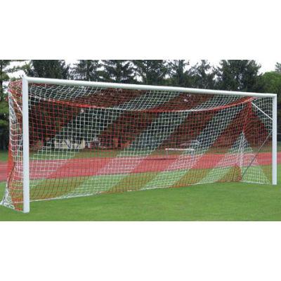 Сетка для футбольных ворот (7,50х2,50 м) 5,0 мм красно-белая фотография товара