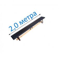 Скамья гимнастическая мягкая на металлических ножках 200см фотография товара