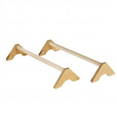 Стоялки гимнастические напольные длинные деревянные
