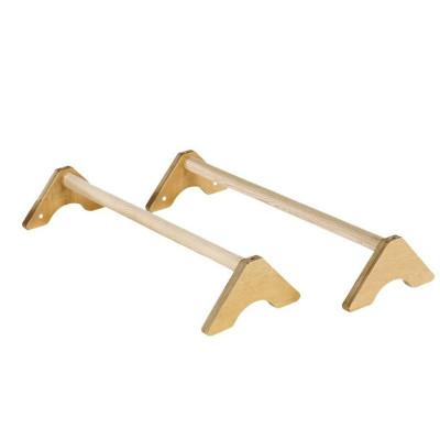 Стоялки гимнастические напольные длинные деревянные фотография товара