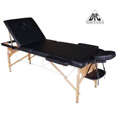 Массажный стол DFC NIRVANA Relax Pro (Black) фотография товара