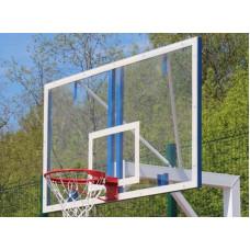 Щит баскетбольный из оргстекла 1,2х0,9м