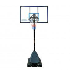 Баскетбольная мобильная стойка 137*82см фотография товара