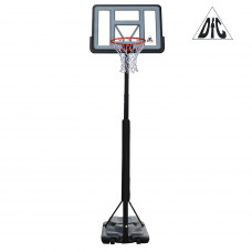 Баскетбольная мобильная стойка STAND44PVC3 110*75см