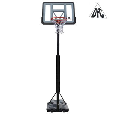 Баскетбольная мобильная стойка STAND44PVC3 110*75см фотография товара