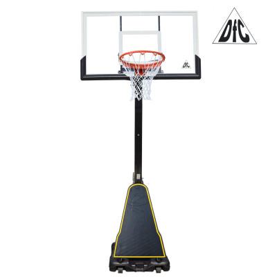 Баскетбольная мобильная стойка STAND54G 136*80см фотография товара
