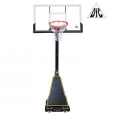 Баскетбольная мобильная стойка STAND54P2 136*80см
