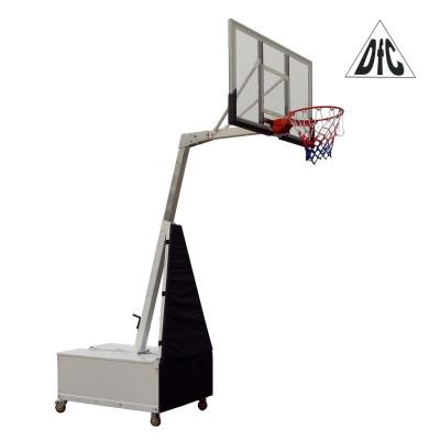 Баскетбольная мобильная стойка STAND56SG 143*80см фотография товара