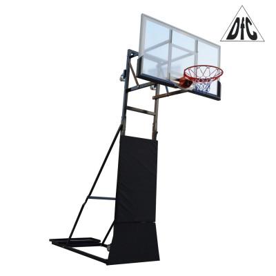Баскетбольная мобильная стойка STAND56Z 145х82см фотография товара