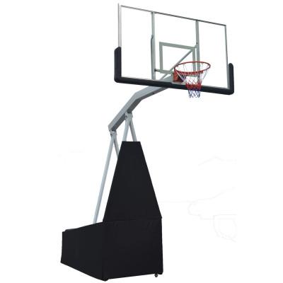 Баскетбольная мобильная стойка STAND72G 180*105см фотография товара
