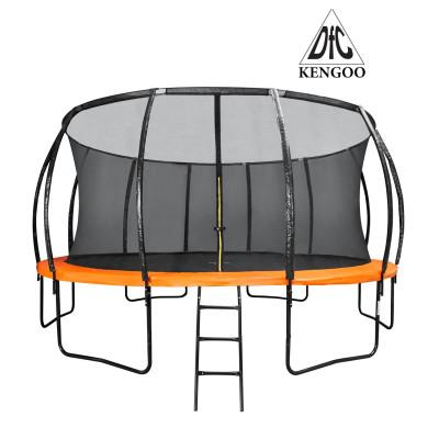Батут DFC KENGOO 488см с сеткой фотография товара