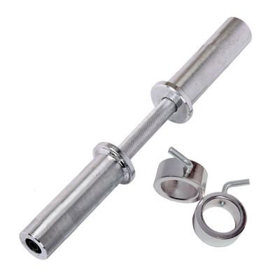 Гриф для гантели хром,, хром ручка д50, длина 490мм фотография товара