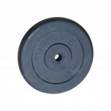 Диск обрезиненный, 26 мм, 10кг Atlet