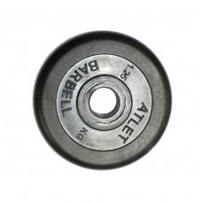 Диск обрезиненный, 26 мм, 1,25кг Atlet