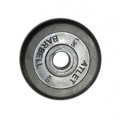 Диск обрезиненный, 26 мм, 1,25кг Atlet фотография товара