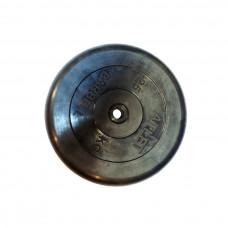 Диск обрезиненный, 26 мм, 25кг Atlet