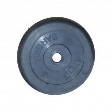 Диск обрезиненный, 26 мм, 5кг Atlet