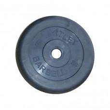 Диск обрезиненный, 31 мм, 5кг Atlet