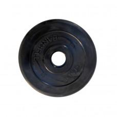 Диск обрезиненный, 51 мм, 10кг Atlet