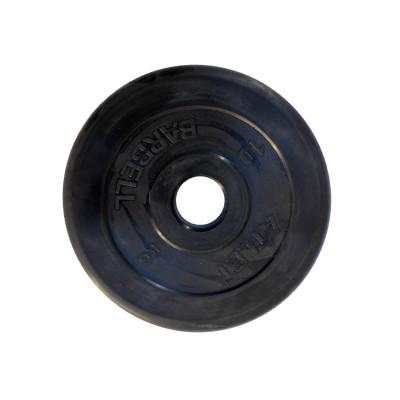 Диск обрезиненный, 51 мм, 10кг Atlet фотография товара
