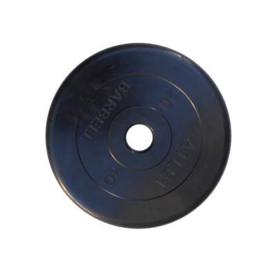 Диск обрезиненный, 51 мм, 25кг Atlet фотография товара