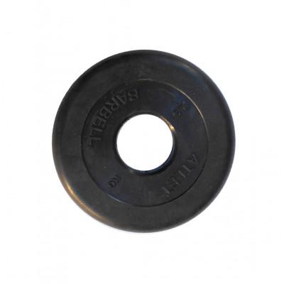 Диск обрезиненный, 51 мм, 2,5кг Atlet фотография товара