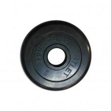 Диск обрезиненный, 51 мм, 5кг Atlet