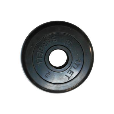 Диск обрезиненный, 51 мм, 5кг Atlet фотография товара
