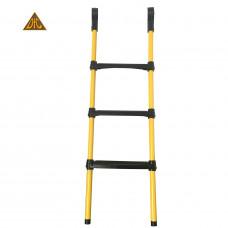 Лестница для батута DFC 110 см желтая