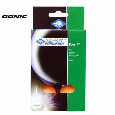 Мячи для настольного тенниса DONIC ELITE оранжевые 6 шт фотография товара