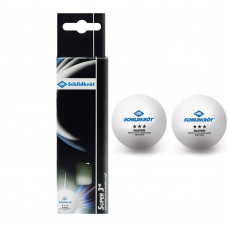 Мячики для н/тенниса DONIC SUPER 3