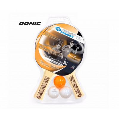 Набор ракеток для настольного тенниса DONIC CHAMPS 150 фотография товара