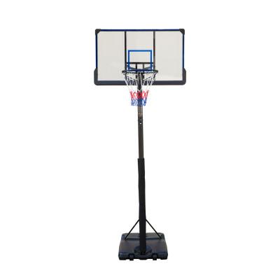 Баскетбольная мобильная стойка 122*72см фотография товара