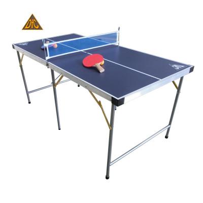 Теннисный стол детский DFC поле 9 мм, синий, складной фотография товара