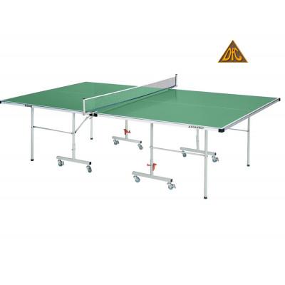 Теннисный стол DFC TORNADO, 4 мм, зеленый, с сеткой фотография товара