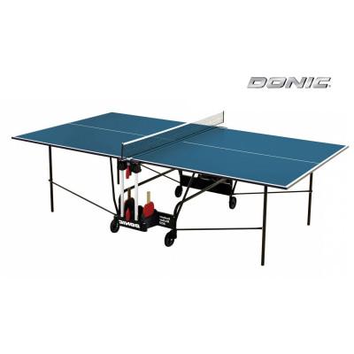 Теннисный стол DONIC INDOOR ROLLER 400 BLUE фотография товара