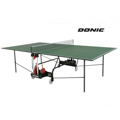 Теннисный стол DONIC INDOOR ROLLER 400 GREEN фотография товара