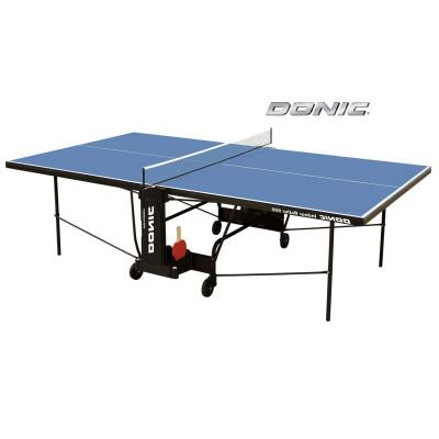 Теннисный стол DONIC INDOOR ROLLER 600 BLUE фотография товара