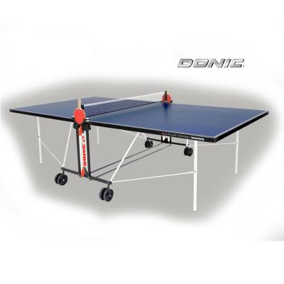 Теннисный стол DONIC INDOOR ROLLER FUN BLUE 19мм фотография товара