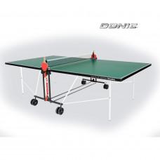 Теннисный стол DONIC INDOOR ROLLER FUN GREEN 19мм