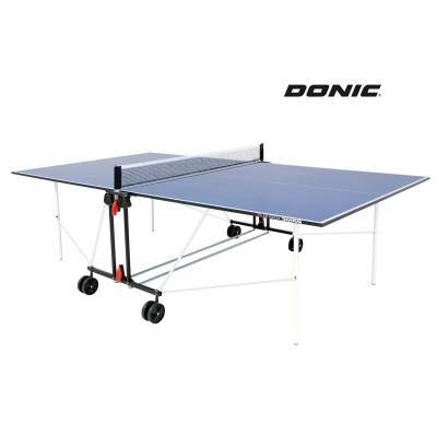 Теннисный стол DONIC INDOOR ROLLER SUN BLUE 16мм фотография товара