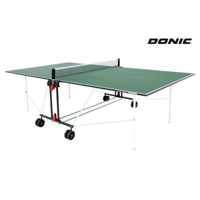 Теннисный стол DONIC INDOOR ROLLER SUN GREEN 16мм фотография товара