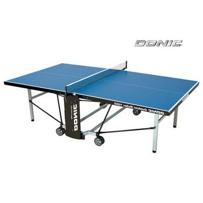Теннисный стол DONIC OUTDOOR ROLLER 1000 BLUE фотография товара