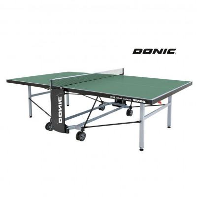 Теннисный стол DONIC OUTDOOR ROLLER 1000 GREEN фотография товара