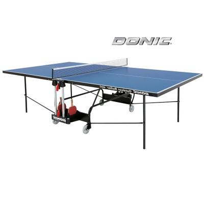 Теннисный стол DONIC OUTDOOR ROLLER 400 BLUE фотография товара