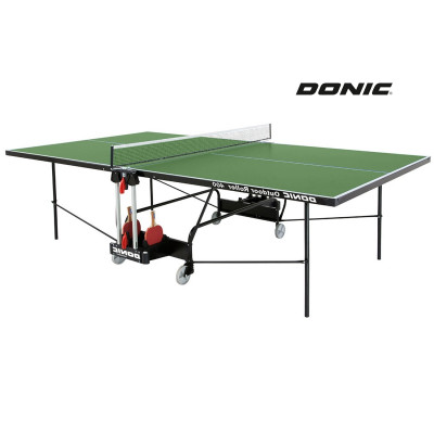 Теннисный стол DONIC OUTDOOR ROLLER 400 GREEN фотография товара