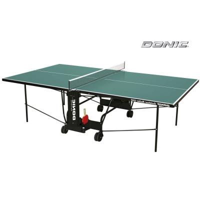 Теннисный стол DONIC OUTDOOR ROLLER 600 зеленый фотография товара